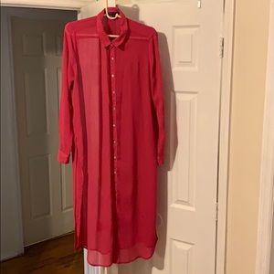 Dresses & Skirts - Sheer blouse or dress